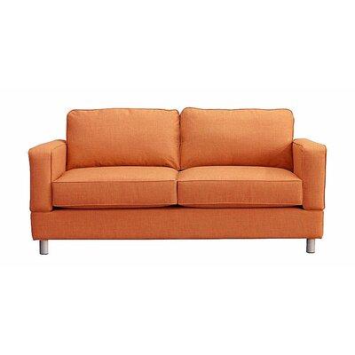 Raleigh Loveseat Upholstery: Orangeade