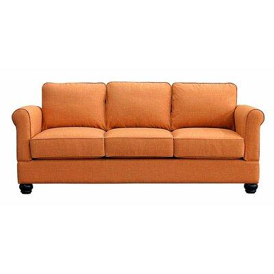 Georgetown Sofa Upholstery: Orangeade