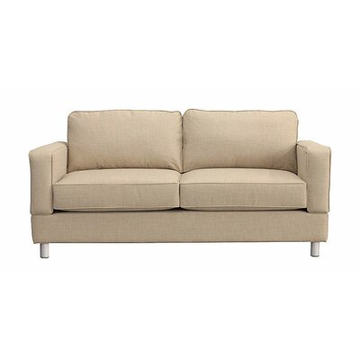 Raleigh Loveseat Upholstery: Buff