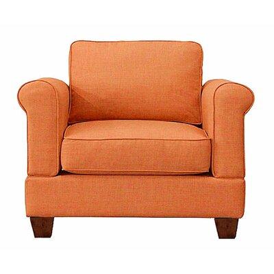 Georgetown Armchair Upholstery: Orangeade