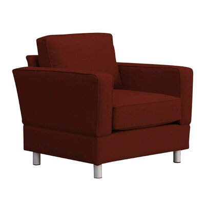 Raleigh Chair and a Half Upholstery: Red
