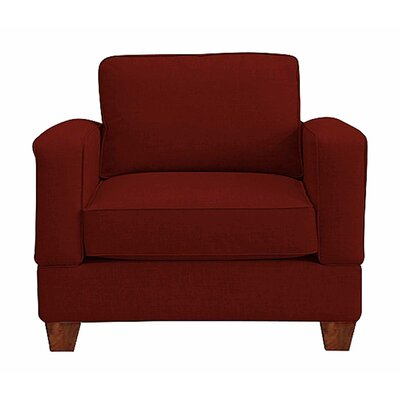 Raleigh Armchair Upholstery: Red
