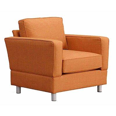 Raleigh Armchair Upholstery: Orangeade