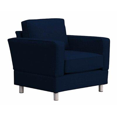 Raleigh Armchair Upholstery: Indigo