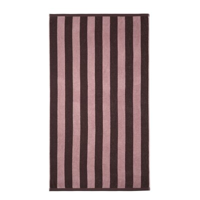 Cabana Striped Beach Towel Color: Plum/Pink