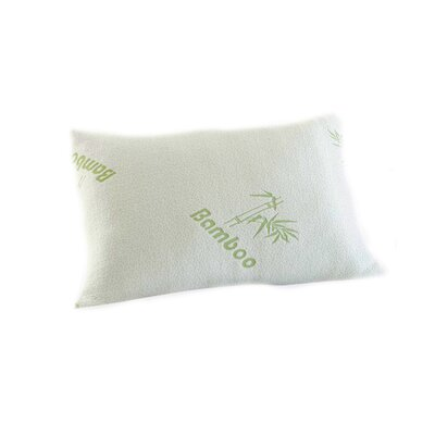 Luxury Hotel Bamboo Rayon Comfort Memory Foam Pillow Size: Queen