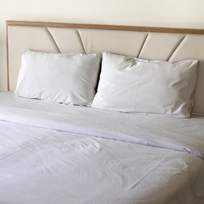 Turberville Microfiber 4 Piece Sheet Set Color: White, Size: Full