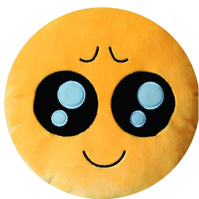 Emoji Series Expression Pity Face Cotton Throw Pillow