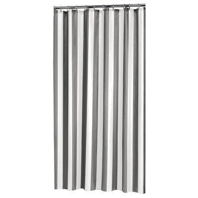 Linje Shower Curtain Color: Gray