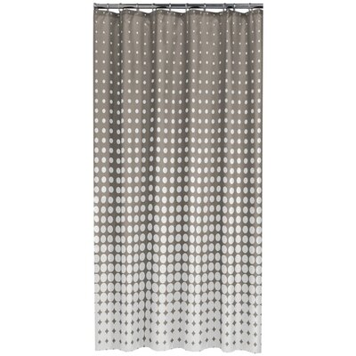 Speckles Shower Curtain Color: Taupe
