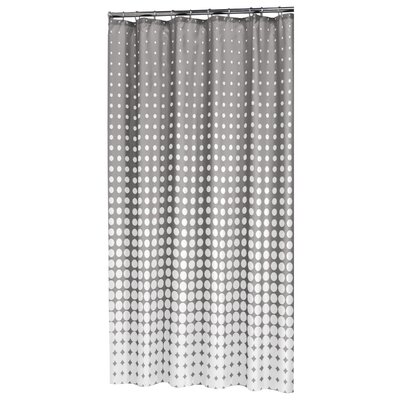 Speckles Shower Curtain Color: Gray