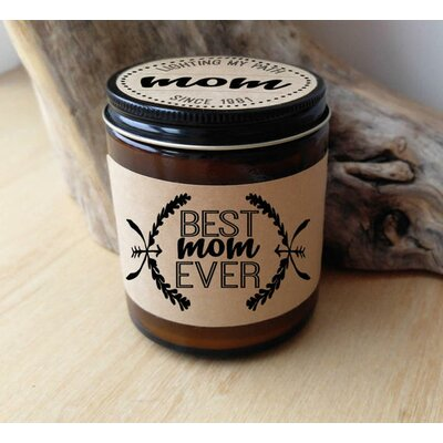 Best Mom Ever Personalized Scent Jar Candle BME-COFF