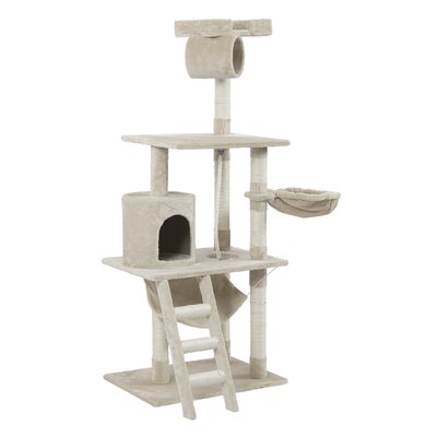 62 Tower Bed Scratchier Cat Trees and Condos Color: Beige