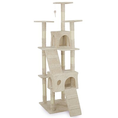 72 Scratches Toy Bed Cat Trees and Condos