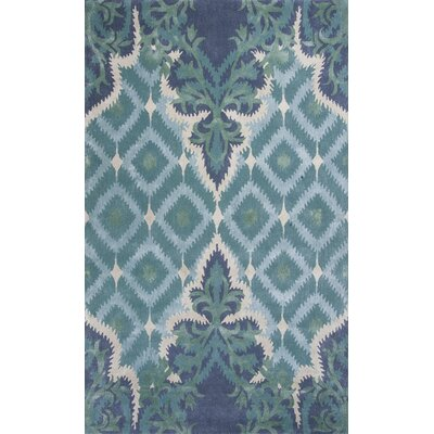 Bob Mackie Home Blue/Green Opulence Area Rug Rug Size: Rectangle 9 x 13
