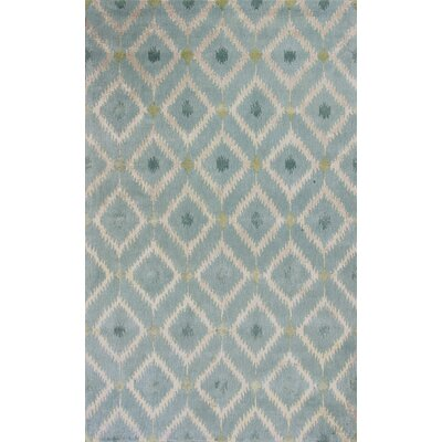 Bob Mackie Home Ice Blue Mirage Area Rug Rug Size: 33 x 53