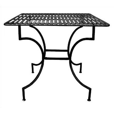 Pangaea Folding Easy to Assemble Iron Square Dining Table - Finish: Black at Sears.com