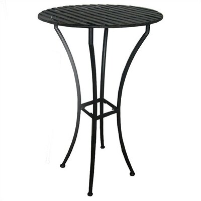 Pangaea Iron Bar Table Finish: Black