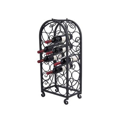 Wilke Wine Storage 20 Bottle Floor Wine Rack