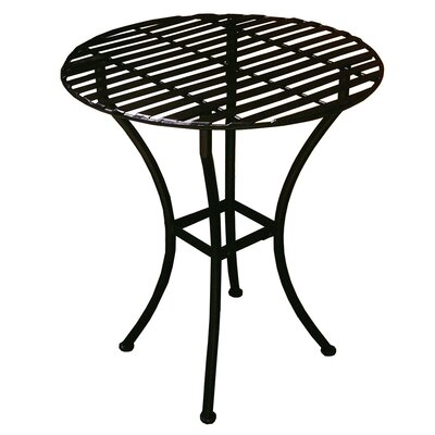 Round Bistro Table Finish: Black