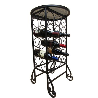 15 Bottle Floor Wine Rack