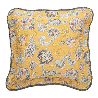 Mary Cotton Throw Pillow