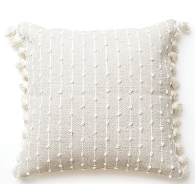 Knot Cotton Throw Pillow