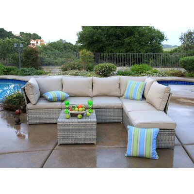 Annett 7 Piece Deep Seating Group with Cushion