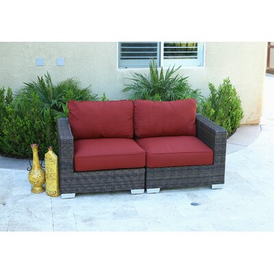 Gerome Oversize 2 Piece Loveseat with Cushion
