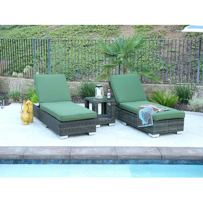 San Marino Oversize Double Sun Lounger Set Group with Cushion