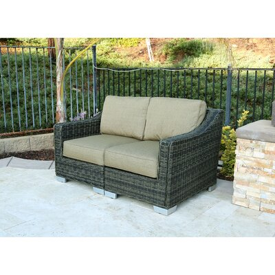 Denika 2 Piece Loveseat with Cushion