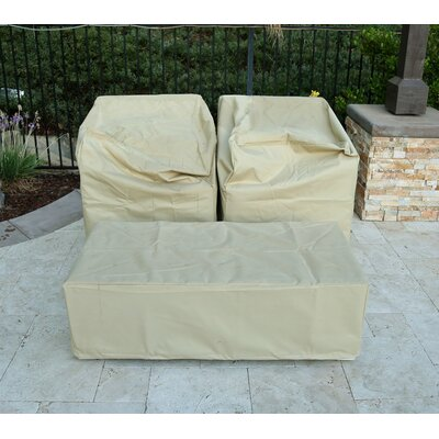 Santa Monica 3 Piece Deep Seating Group with Cushion