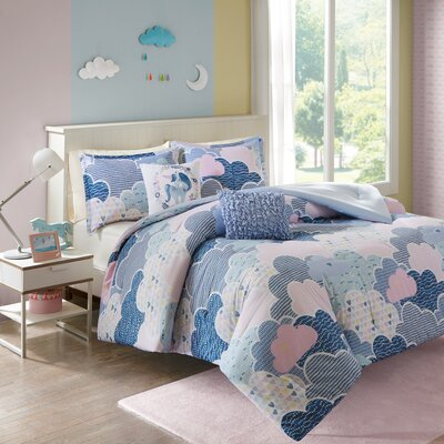 Jamari Cotton Duvet Cover Set Size: Full/Queen