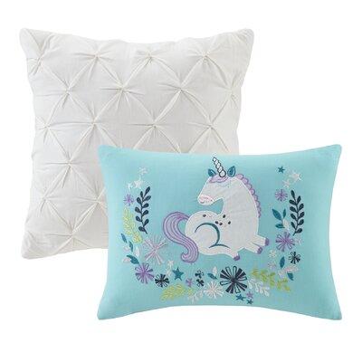 Allan Cotton Comforter Set Size: Full/Queen