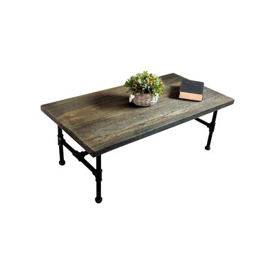 Griffith Industrial Coffee Table Finish: Dark