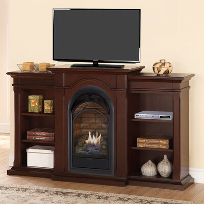 Duluth Forge 36 TV Stand with Gas Fireplace