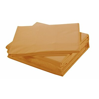 Ultra Luxury 300 Thread Count 100% Cotton Sheet Set Size: Full, Color: Tan
