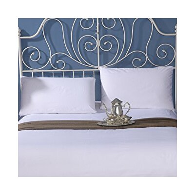 Ultra Luxury 300 Thread Count 100% Cotton Sheet Set Size: Queen, Color: White