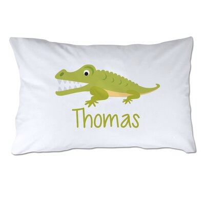 Personalized Alligator Pillow Case