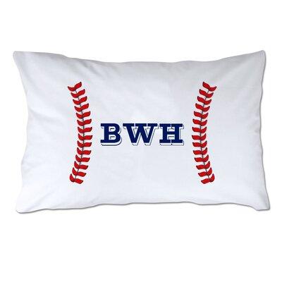 Personalized Baseball Seams Pillow Case