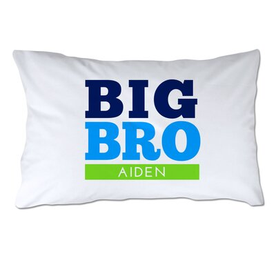 Personalized Big Brother Pillow Case