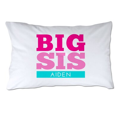 Personalized Big Sister Pillow Case