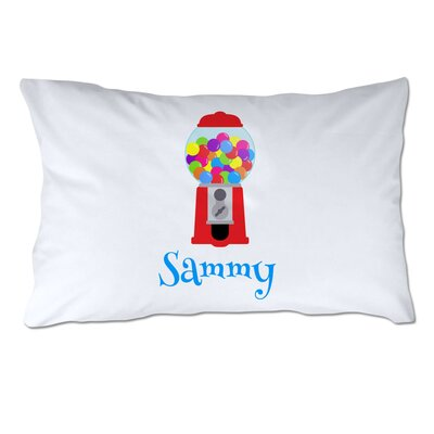 Personalized Gumball Machine Pillow Case