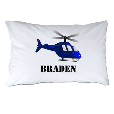 Personalized Helicopter Pillow Case