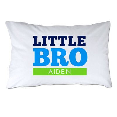 Personalized Little Brother Pillow Case