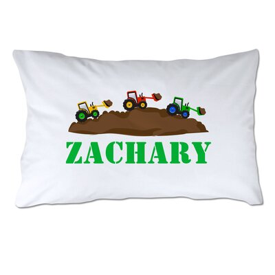 Personalized Little Builder Pillow Case