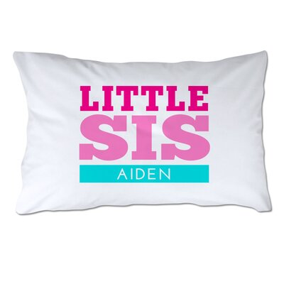 Personalized Little Sister Pillow Case