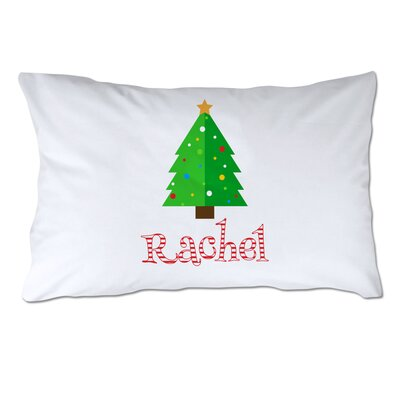 Personalized Christmas Tree Pillow Case