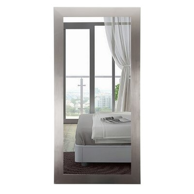 Commercial Value Silver Hotel Design Full Length Wall Mirror