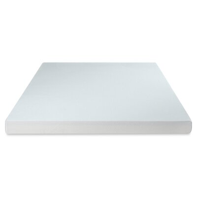 Premium 2 Layer 4 Memory �Foam Mattress Topper Size: Queen